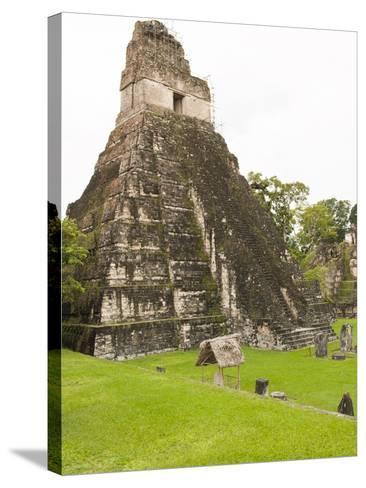 Tikal National Park (Parque Nacional Tikal), UNESCO World Heritage Site, Guatemala, Central America-Michael DeFreitas-Stretched Canvas Print