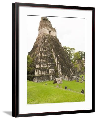 Tikal National Park (Parque Nacional Tikal), UNESCO World Heritage Site, Guatemala, Central America-Michael DeFreitas-Framed Art Print