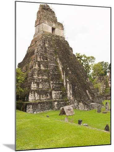 Tikal National Park (Parque Nacional Tikal), UNESCO World Heritage Site, Guatemala, Central America-Michael DeFreitas-Mounted Photographic Print