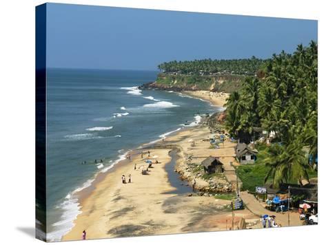 Papanasam Beach, Varkala, Kerala, India, Asia-Stuart Black-Stretched Canvas Print