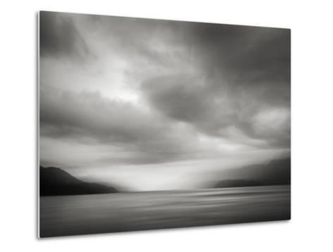 Coast Bw-Ursula Abresch-Metal Print