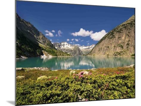 Mountain Lake-Philippe Sainte-Laudy-Mounted Photographic Print