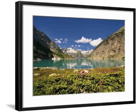 Mountain Lake-Philippe Sainte-Laudy-Framed Art Print