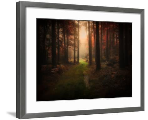 Red Autumn-Philippe Manguin-Framed Art Print