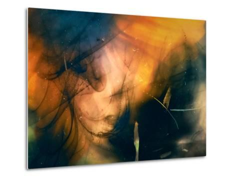 Girl with the Yellow Hat-Ursula Abresch-Metal Print