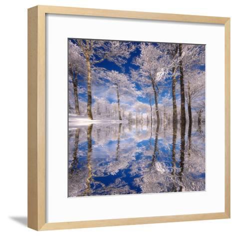 Dream in Blue-Philippe Sainte-Laudy-Framed Art Print