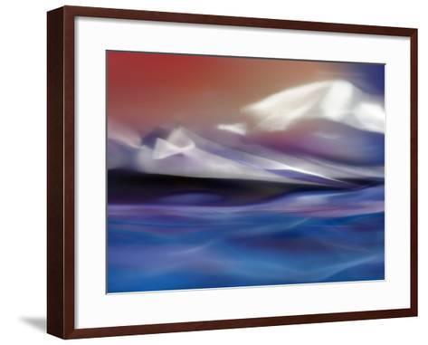 Land of Fire and Water-Ursula Abresch-Framed Art Print