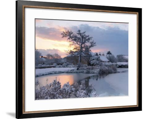 Frozen Dawn-Doug Chinnery-Framed Art Print
