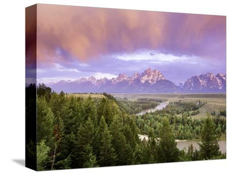 Grand Tetons-Art Wolfe-Stretched Canvas Print
