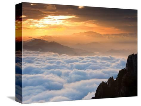 Above the Horizon-Art Wolfe-Stretched Canvas Print