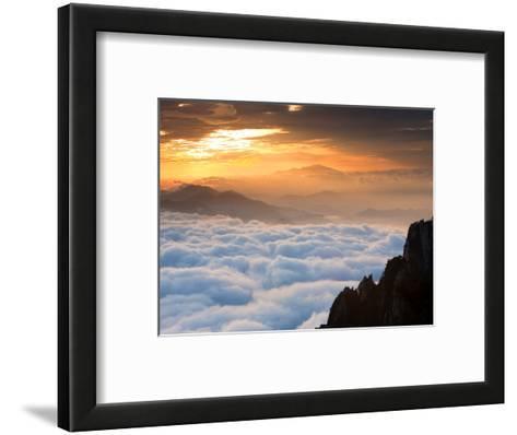 Above the Horizon-Art Wolfe-Framed Art Print