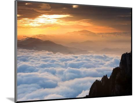 Above the Horizon-Art Wolfe-Mounted Photographic Print