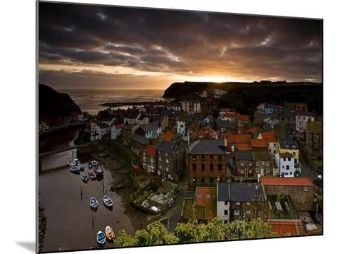 Dawn over Staithes-Doug Chinnery-Mounted Photographic Print