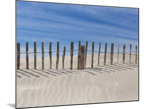 Fence on the Shore-Marco Carmassi-Mounted Photographic Print