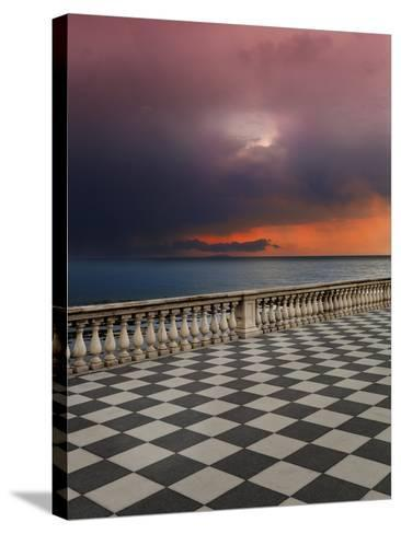 Storm from the Terrace-Marco Carmassi-Stretched Canvas Print