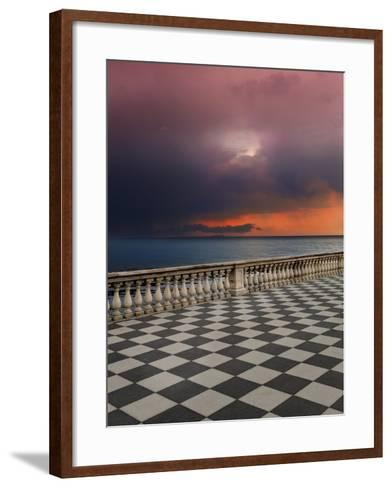 Storm from the Terrace-Marco Carmassi-Framed Art Print