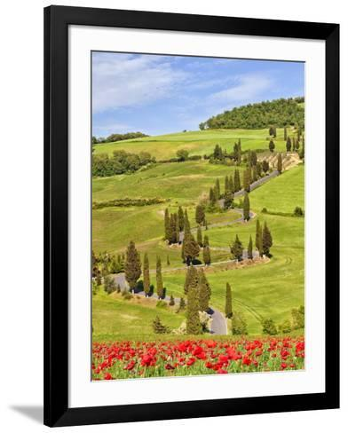 Monticchiello-Marco Carmassi-Framed Art Print