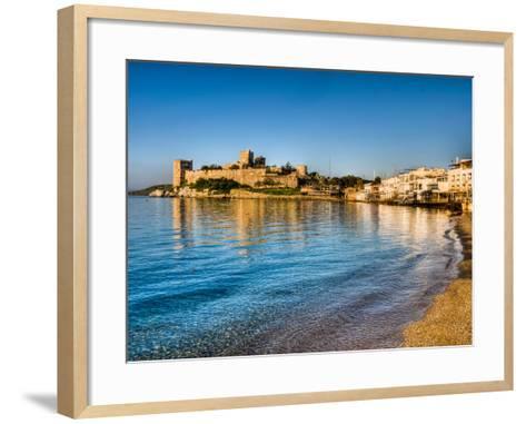 Bodrum Castle-Nejdet Duzen-Framed Art Print