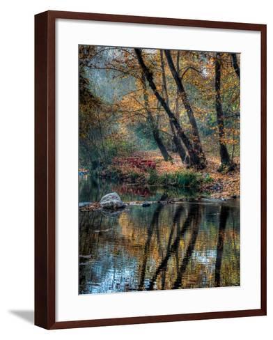 Reflection of Autumn-Nejdet Duzen-Framed Art Print
