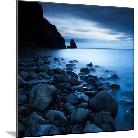 Talisker Bay under a Winter Moon-Doug Chinnery-Mounted Photographic Print