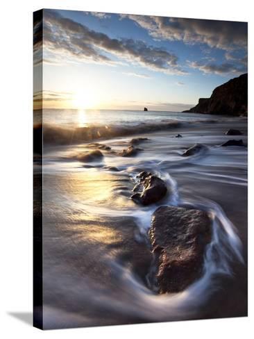 Tyneside Dawn-Doug Chinnery-Stretched Canvas Print
