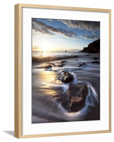 Tyneside Dawn-Doug Chinnery-Framed Art Print