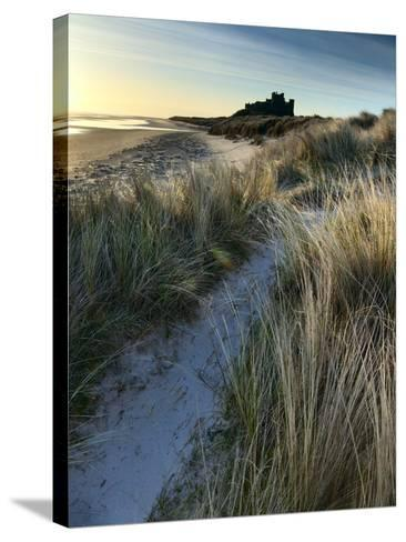 Bamburgh Dunes-Doug Chinnery-Stretched Canvas Print