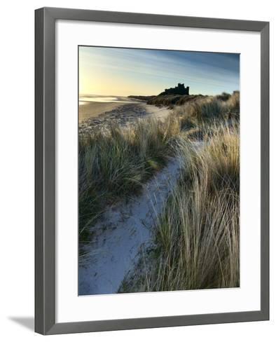 Bamburgh Dunes-Doug Chinnery-Framed Art Print