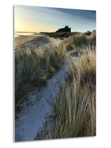 Bamburgh Dunes-Doug Chinnery-Metal Print