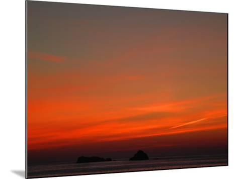 Red Sky at Night-Magda Indigo-Mounted Photographic Print