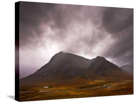 Glencoe Cottage-Doug Chinnery-Stretched Canvas Print