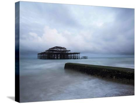 Ghost House-Doug Chinnery-Stretched Canvas Print