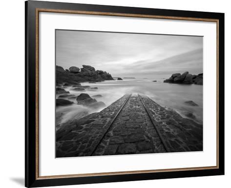 Meeting with Poseidon-Philippe Manguin-Framed Art Print