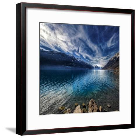 Blue Mountains-Philippe Sainte-Laudy-Framed Art Print
