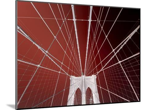 Brooklyn Bridge-Philippe Sainte-Laudy-Mounted Photographic Print