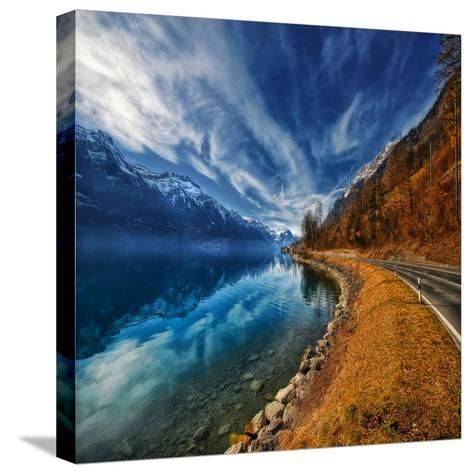 On the Road Again-Philippe Sainte-Laudy-Stretched Canvas Print