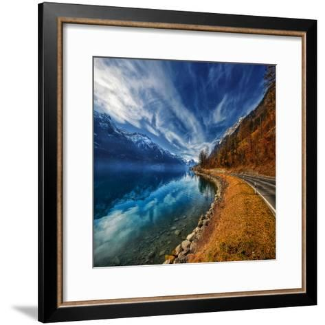 On the Road Again-Philippe Sainte-Laudy-Framed Art Print