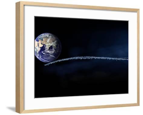 Fragile-Philippe Sainte-Laudy-Framed Art Print