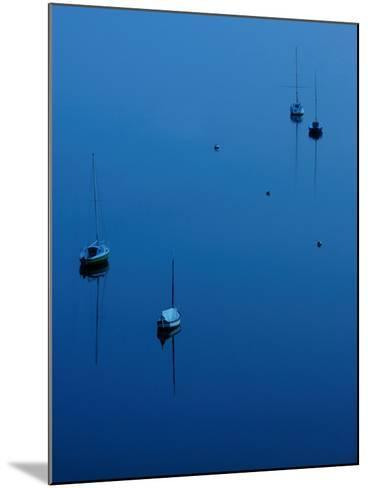 Blue Evening on Britany-Philippe Manguin-Mounted Photographic Print