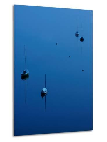 Blue Evening on Britany-Philippe Manguin-Metal Print