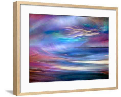 Evening Ferry Ride-Ursula Abresch-Framed Art Print
