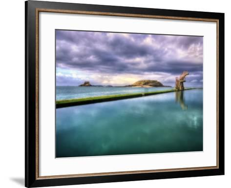 Saint Malo-Philippe Manguin-Framed Art Print