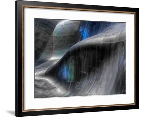 Metalfall-Ursula Abresch-Framed Art Print