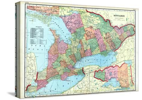 1906, Ontario, Canada--Stretched Canvas Print