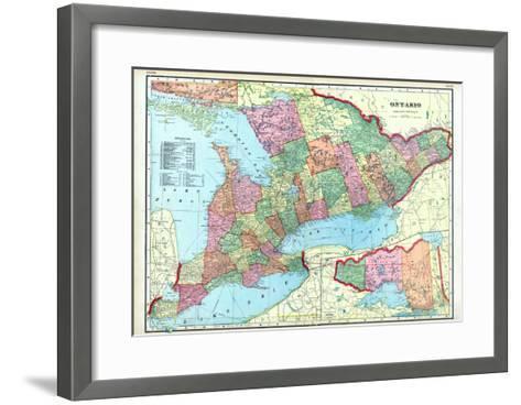 1906, Ontario, Canada--Framed Art Print