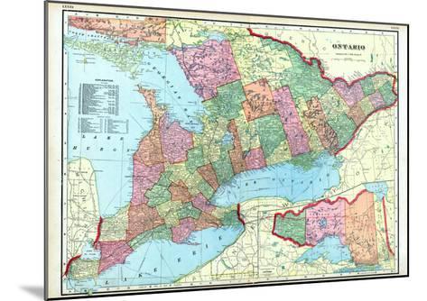 1906, Ontario, Canada--Mounted Giclee Print
