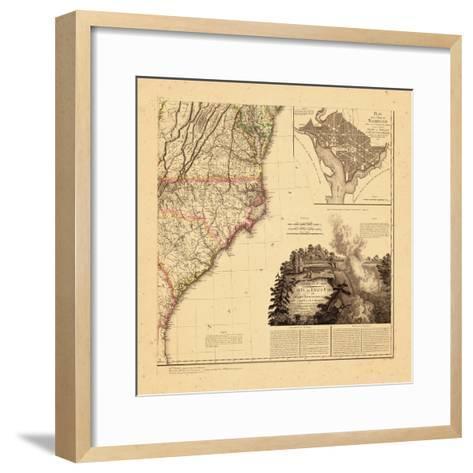 1812, North Carolina, Maryland, South Carolina, Virginia--Framed Art Print
