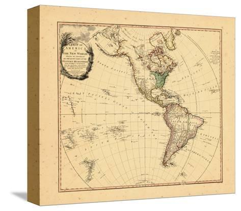 1797, North America, South America--Stretched Canvas Print