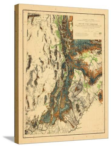 1878, Utah--Stretched Canvas Print