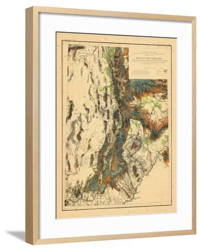1878, Utah--Framed Art Print